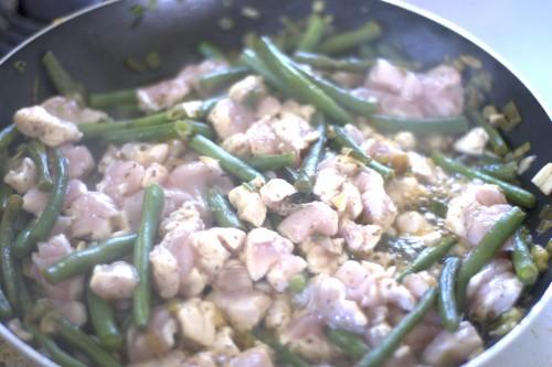 Gasztro – zöldséges csirke