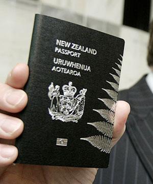 Új kiwi útlevél