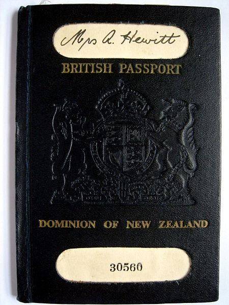 Kiwi útlevél