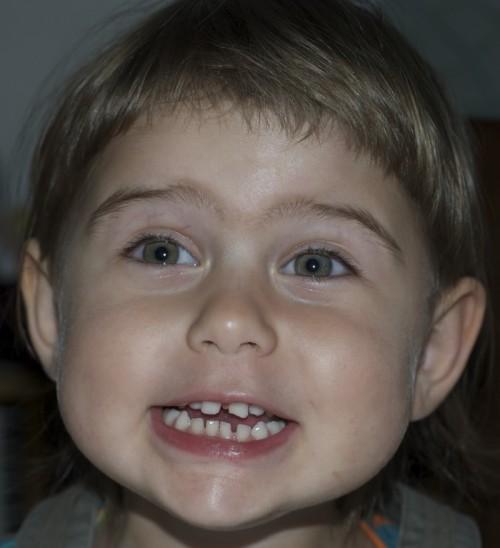 Eszter három éves