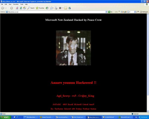 Breaking Newz – MSN.CO.NZ hacked
