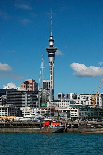 Kiwi ikonok – Sky Tower