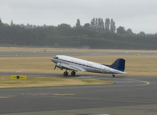 ZK-AMY, C-47 Skytrain