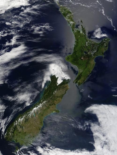 Új-Zéland geológiája