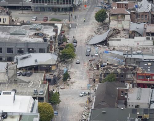 Christchurch – újabb földrengés