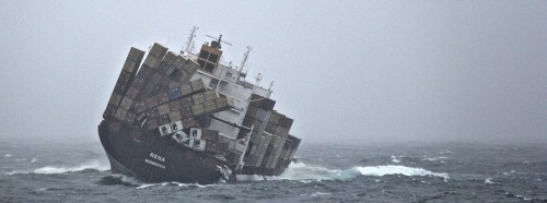 A Rena katasztrófa – olaj a parton