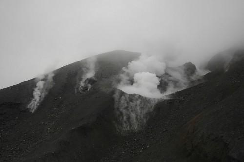Vulkánkitörés – Mt. Tongariro