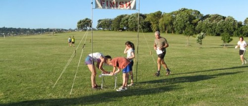 orienteering-finish