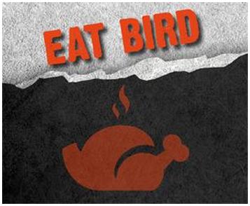 gamebird-eat